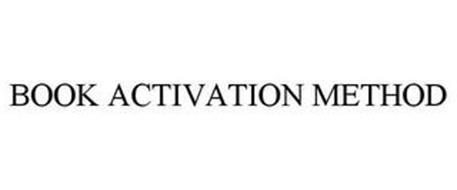BOOK ACTIVATION METHOD