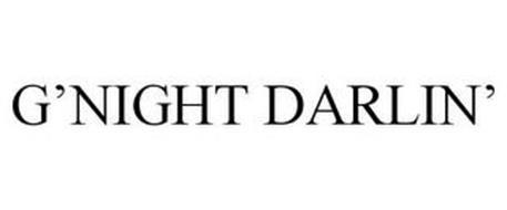 G'NIGHT DARLIN'