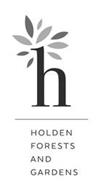 H HOLDEN FORESTS & GARDENS