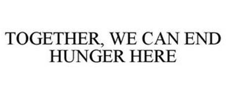 TOGETHER, WE CAN END HUNGER HERE