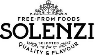 SOLENZI FREE-FROM FOODS SELECTED FOR QUALITY & FLAVOUR