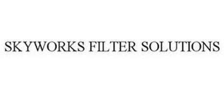 SKYWORKS FILTER SOLUTIONS