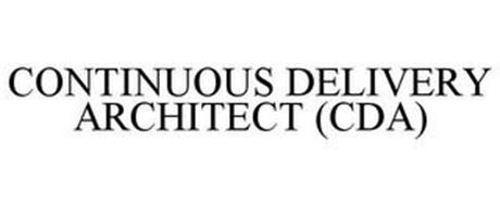 CONTINUOUS DELIVERY ARCHITECT (CDA)
