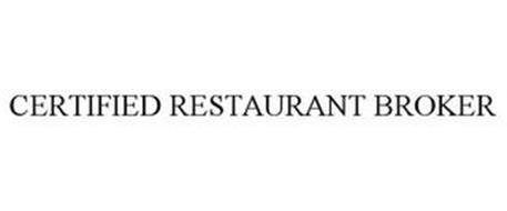 CERTIFIED RESTAURANT BROKER