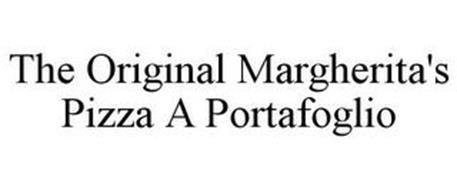 THE ORIGINAL MARGHERITA'S PIZZA A PORTAFOGLIO