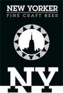 NEW YORKER FINE CRAFT BEER NY