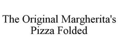 THE ORIGINAL MARGHERITA'S PIZZA FOLDED