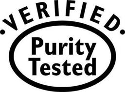 VERIFIED PURITY TESTED