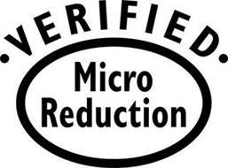 VERIFIED MICRO REDUCTION