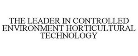 THE LEADER IN CONTROLLED ENVIRONMENT HORTICULTURAL TECHNOLOGY