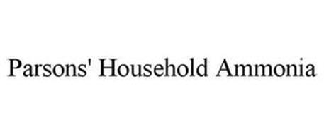 PARSONS' HOUSEHOLD AMMONIA