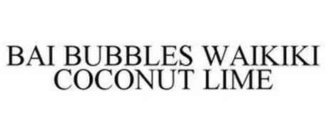 BAI BUBBLES WAIKIKI COCONUT LIME