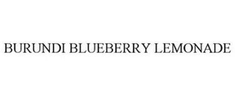 BURUNDI BLUEBERRY LEMONADE