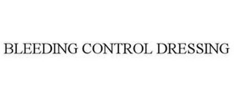 BLEEDING CONTROL DRESSING