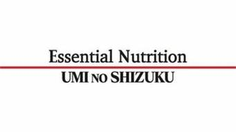 ESSENTIAL NUTRITION UMI NO SHIZUKU