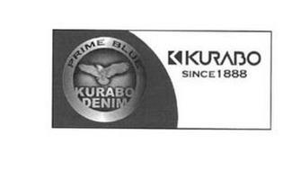 PRIME BLUE KURABO DENIM K KURABO SINCE 1888