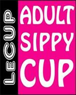 LECUP ADULT SIPPY CUP