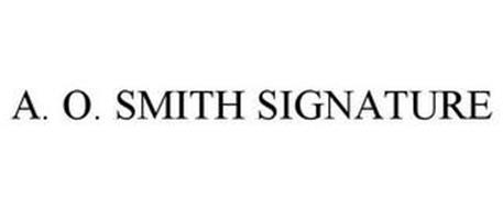 A. O. SMITH SIGNATURE