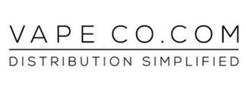 VAPE CO.COM DISTRIBUTION SIMPLIFIED
