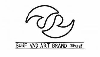 S SURF AND ART BRAND STOKED