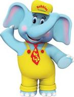 BUBBLES THE ELEPHANT ABC 123
