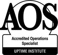 AOS ACCREDITED OPERATIONS SPECIALIST UPTIME INSTITUTE