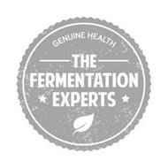 GENUINE HEALTH THE FERMENTATION EXPERTS