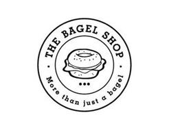 · THE BAGEL SHOP · MORE THAN JUST A BAGEL