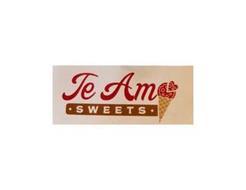 TE AMO · SWEETS ·