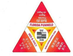 FLORIDA PUMMELO RED & JUICY NOBLEWORLDWIDE.COM PRODUCT OF USA 3129 BUOI DO FLORIDA NGON VA NGOT
