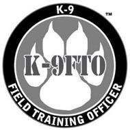 K-9FTO K-9 FIELD TRAINING OFFICER