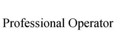 PROFESSIONAL OPERATOR