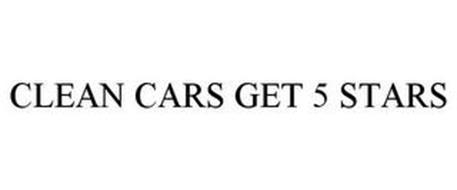 CLEAN CARS GET 5 STARS