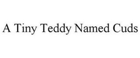 A TINY TEDDY NAMED CUDS