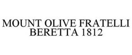 MOUNT OLIVE FRATELLI BERETTA 1812