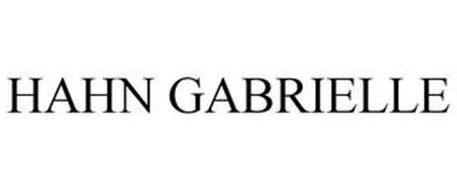 HAHN GABRIELLE