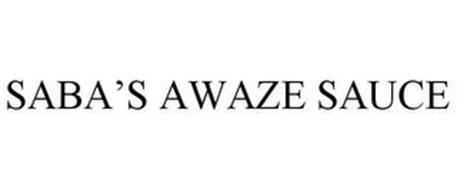 SABA'S AWAZE SAUCE