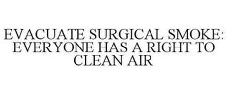 EVACUATE SURGICAL SMOKE: EVERYONE HAS ARIGHT TO CLEAN AIR