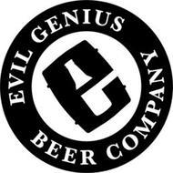 E EVIL GENIUS BEER COMPANY