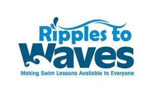 RIPPLES TO WAVES MAKING SWIM LESSONS AVAILABLE TO EVERYONE