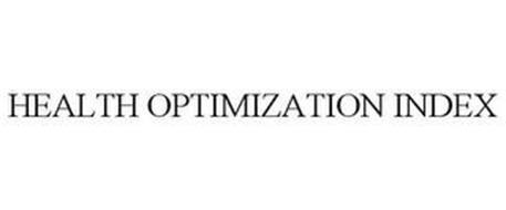 HEALTH OPTIMIZATION INDEX