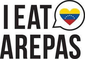 I EAT AREPAS
