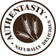 AUTHENTASTY  ·  NATURALLY DELICIOUS ·