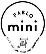PABLO MINI B PABLO MINI THE CHEESE TART PABLO MINI