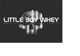 LITTLE BOY WHEY HEAVY WHEY PROTEIN BOMB FORMULA