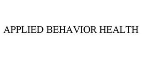 APPLIED BEHAVIOR HEALTH
