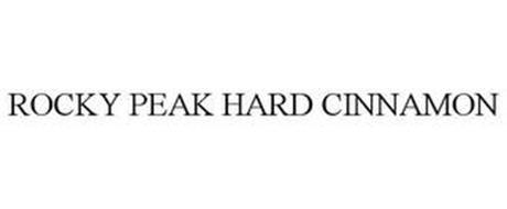 ROCKY PEAK HARD CINNAMON