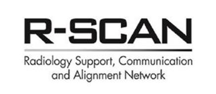 R-SCAN RADIOLOGY SUPPORT, COMMUNICATION AND ALIGNMENT NETWORK