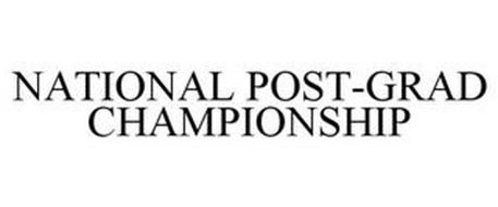 NATIONAL POST-GRAD CHAMPIONSHIP
