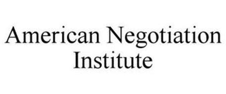 AMERICAN NEGOTIATION INSTITUTE